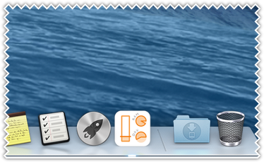 CPU, memory usage, drive space in the dock icon