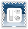 System usage dock icon - gray color scheme